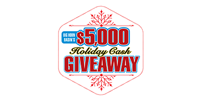 $5,000 Holiday Cash Giveaway